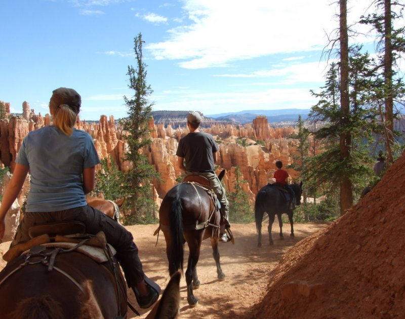 Riding in Bryce Canyon