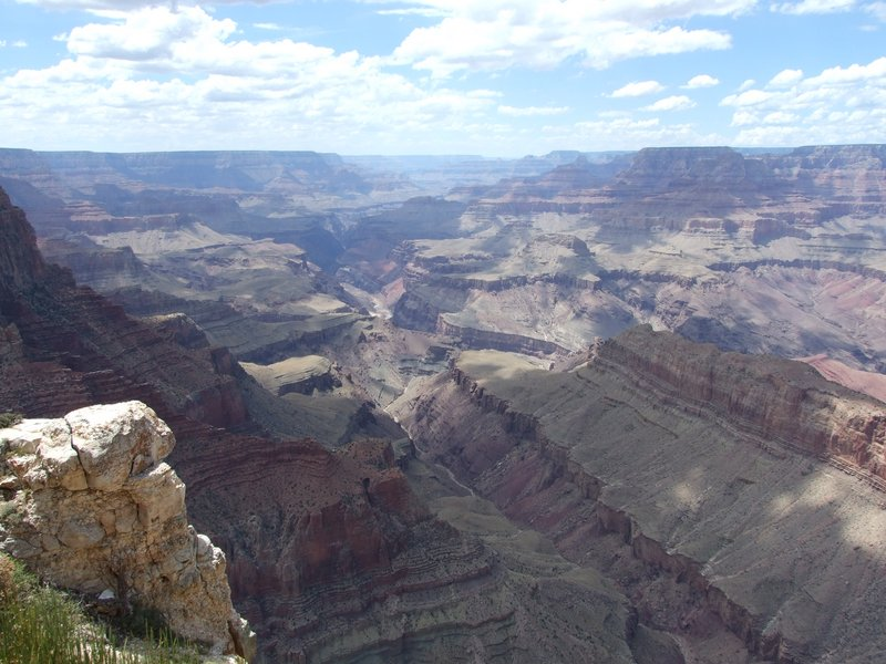 One of the amazing views of the Grand Canyon