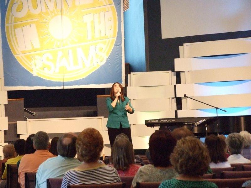 Outreach event at Prescott Christian Church in AZ