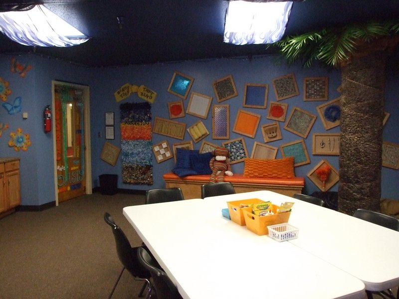 "The awesome ""sensory"" Sunday School room for special needs kids at PazNaz"
