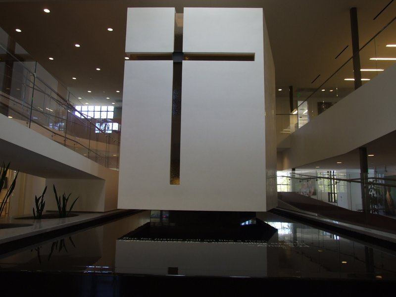 The floating chapel in the heart of Joni and Friends International Headquarters