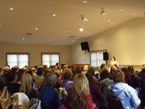 Teaching the retreat at Church of the Open Door