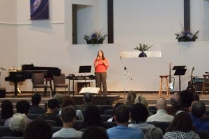 Speaking at The Crossing Community Church