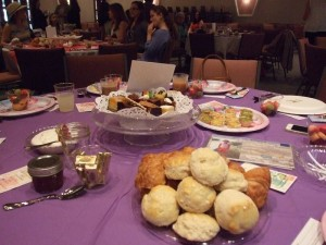The beautiful tea at Island Christian for Mother's Day