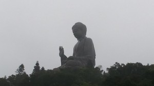 One fleeting glimpse of the Buddha