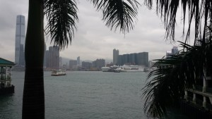 Kowloon Peninsula in Hong Kong