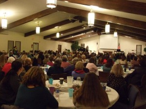 The women at Rothbury Community Church in Michigan