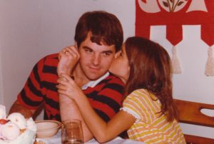 My favorite picture of me with my dad - I was seven or eight at the time
