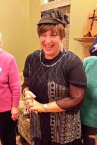 One of my favorites - Donna right after shaving her head for yet another go-round with cancer and trying on a new wig.